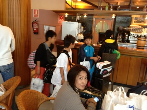 U-13 Hotel departure 1