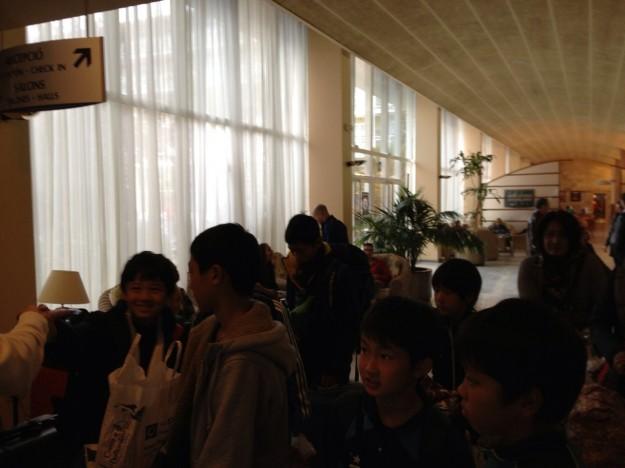 U-13 Hotel departure 11