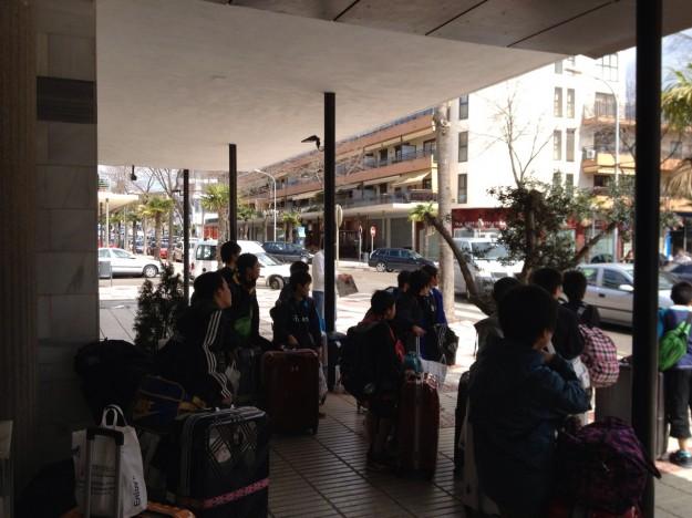 U-13 Hotel departure 16