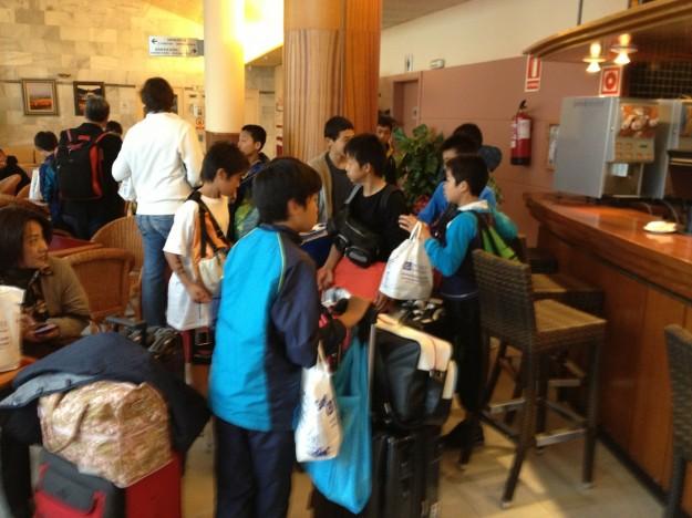 U-13 Hotel departure 2