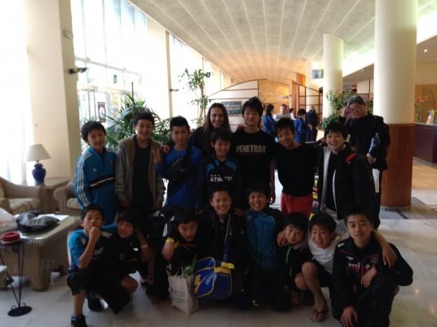 U-13 Hotel departure 8